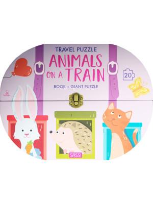 Animals on a train. Travel puzzle. Ediz. a colori. Con puzzle