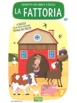 La fattoria. Libro puzzle. Ediz. a colori. Con Giocattolo