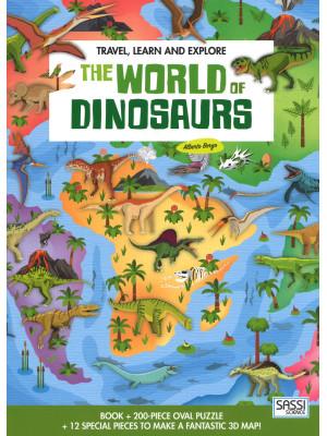 The world of dinosaurs. Travel, learn and explore. Ediz. a colori. Con puzzle