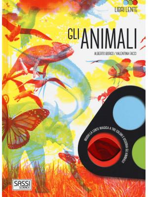 Gli animali. Libri lente. Ediz. a colori. Con gadget