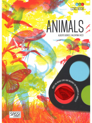 Animals. Lens book. Con gadget