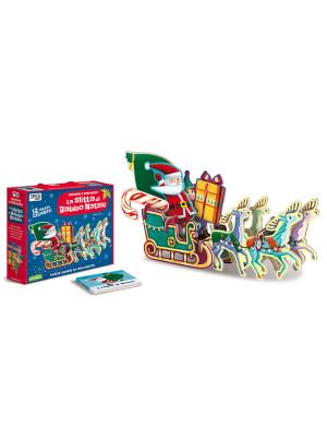 La slitta di Babbo Natale. Incastra e costruisci. Ediz. a colori. Con puzzle
