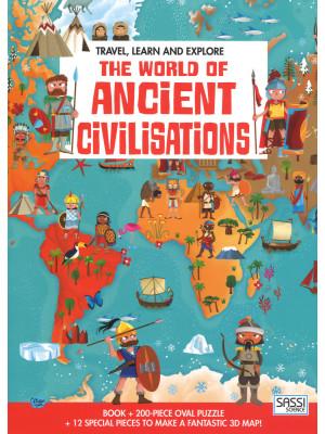 The world of ancient civilizations. Travel, learn and explore. Ediz. a colori. Con puzzle