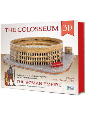 The Colosseum 3D. The roman empire. Con Giocattolo
