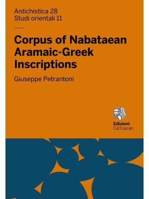 Corpus of Nabataean Aramaic-Greek Inscriptions