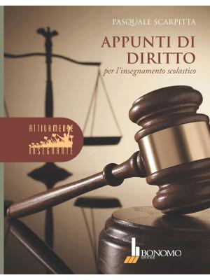 Appunti di diritto per l'insegnamento scolastico