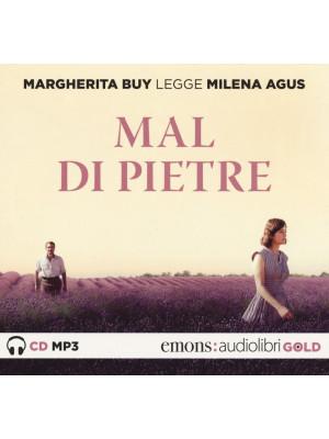 Mal di pietre letto da Margherita Buy. Audiolibro. CD Audio formato MP3