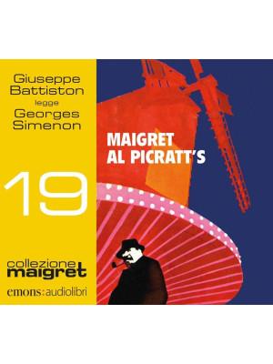 Maigret al Picratt's letto da Giuseppe Battiston. Audiolibro. CD Audio formato MP3