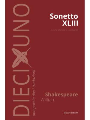 Sonetto XLIII