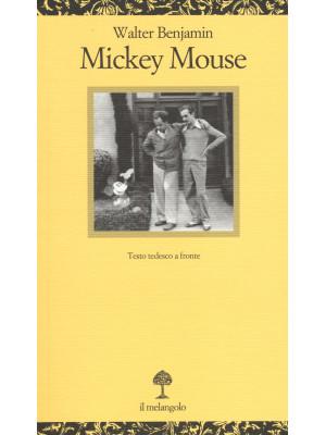 Mickey Mouse. Testo tedesco a fronte