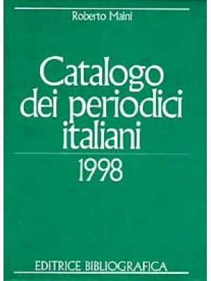 Catalogo dei periodici italiani 1998
