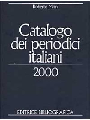 Catalogo dei periodici italiani 2000