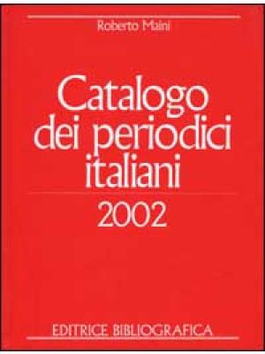 Catalogo dei periodici italiani 2002