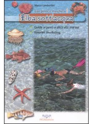 Elba sott'acqua. Guida ai pesci e altra vita marina. Itinerari snorkeling. Con pinne e maschera. Vol. 1