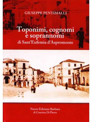 Toponimi, cognomi e soprannomi di Sant'Eufemia d'Aspromonte