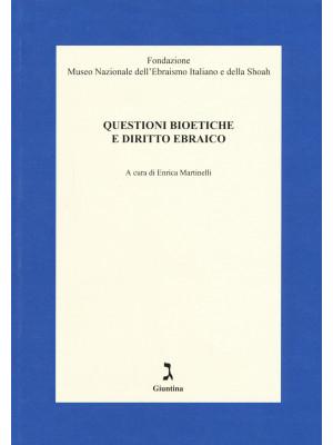 Questioni bioetiche e diritto ebraico