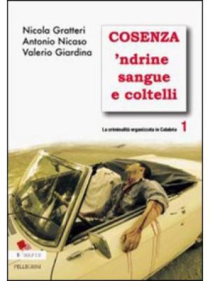 La criminalità organizzata in Calabria. Vol. 1: Cosenza 'ndrine sangue e coltelli
