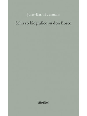 Schizzo biografico su don Bosco