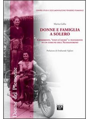 Donne e famiglia a Solero. Censimenti, «stati d'anime» e testamenti in un comune dell'Alessandrino