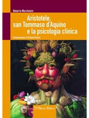 Aristotele, san Tommaso d'Aquino e la psicologia clinica