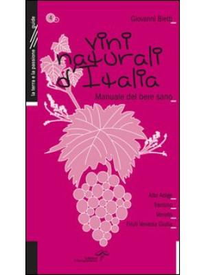 Vini naturali d'Italia. Manuale del bere sano. Vol. 4: L'Italia del Nord Est
