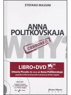Anna Politkovskaja. Con DVD