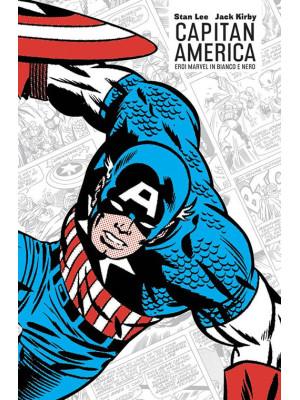 Capitan America. Eroi Marvel in bianco e nero