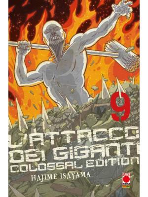L'attacco dei giganti. Colossal edition. Vol. 9