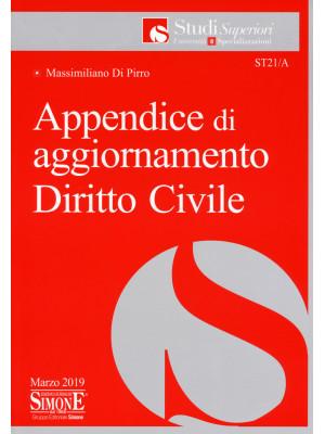 Appendice di aggiornamento diritto civile
