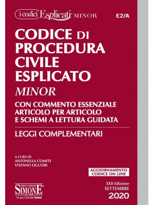 Codice di procedura civile esplicato. Ediz. minor