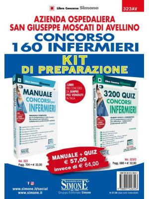 AORN San Giuseppe Moscati di Avellino. Concorso 160 infermieri. Kit di preparazione. Manuale + Quiz. Con software di simulazione