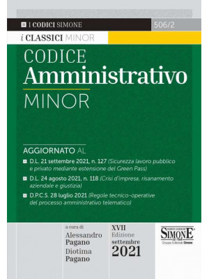 Codice amministrativo minor