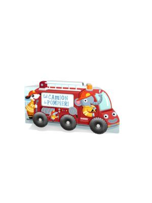 Sul camion dei pompieri. I libri con le ruote XL. Ediz. a colori