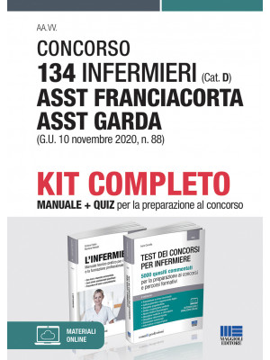Concorso 134 infermieri (Cat. D) ASST Franciacorta ASST Garda (G.U. 10 novembre 2020, n. 88). Kit completo
