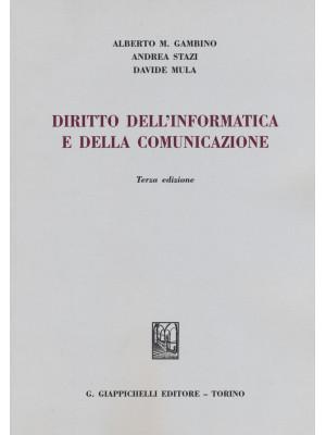 Diritto dell'informatica e della comunicazione