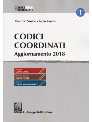 Codici coordinati. Aggiornamento 2018