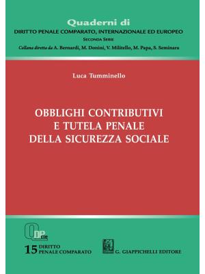 Obblighi contributivi e tutela penale della sicurezza sociale
