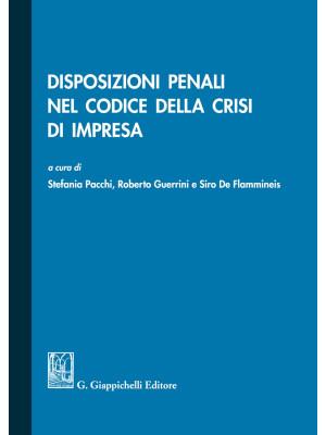 Disposizioni penali nel codice della crisi di impresa
