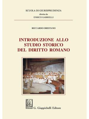 Introduzione allo studio storico del diritto romano