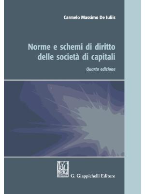 Norme e schemi di diritto delle società di capitali