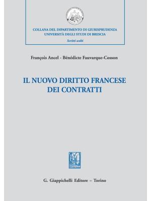 Il nuovo diritto francese dei contratti