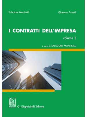 I contratti dell'impresa. Vol. 2