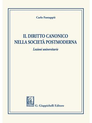 Il diritto canonico nella società postmoderna