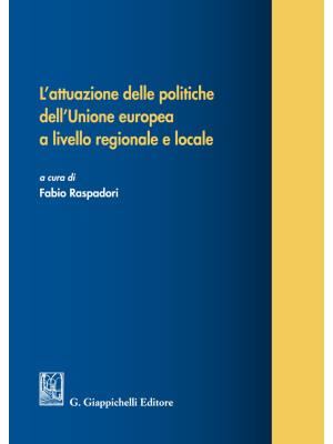 L'attuazione delle politiche dell'Unione europea a livello regionale e locale