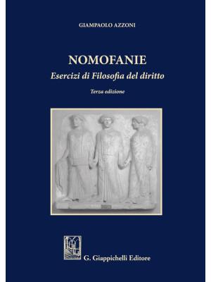 Nomofanie. Esercizi di Filosofia del diritto