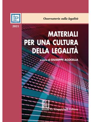 Materiali per una cultura della legalità