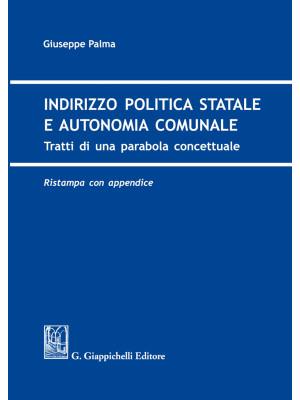 Indirizzo politica statale e autonomia comunale