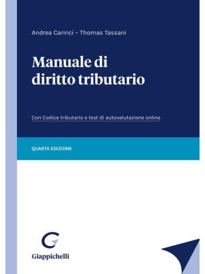 Manuale di diritto tributario