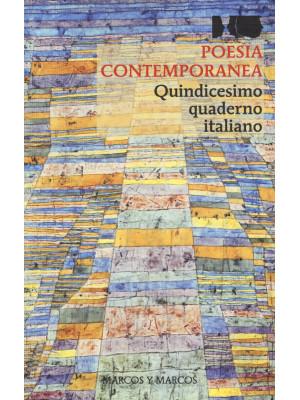 Poesia contemporanea. Quindicesimo quaderno italiano