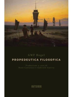 Propedeutica filosofica
